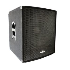 Subwoofer amplificado wargenomen