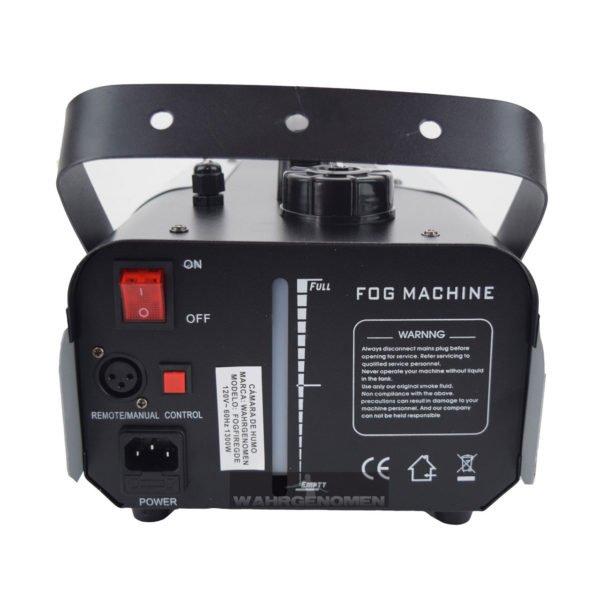 FOGFIREGDE Maquina de humo inalámbrica/alámbrica con leds 1000 watts